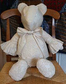 Wedding Dress Bear