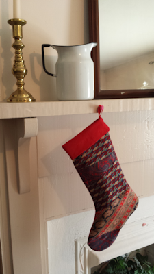 Christmas Tie Stocking