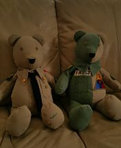 Two Army Bears