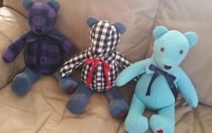3 purple flannel bears_opt
